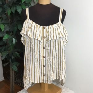 Maurices size 0 on or off shoulder long sleeve top